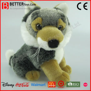 Realistic Stuffed Animals Soft Wolf Plush Toy for Kids pictures & photos