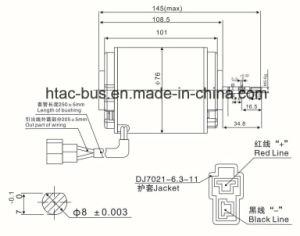 Mando Condenser Fan Motor 24V Universal Type pictures & photos