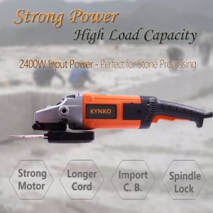 2200W Power Tools Angle Grinder of Stone Cutting pictures & photos