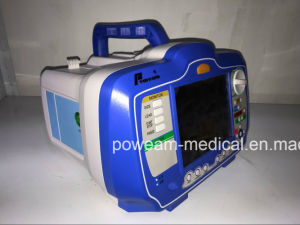 Hospital First Aid Portable Biphasic External Aed Defibrillator with Monitor pictures & photos