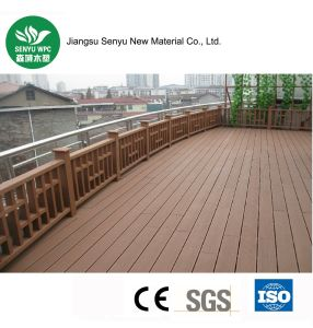 Environment-Protecting WPC Hollow Flooring pictures & photos