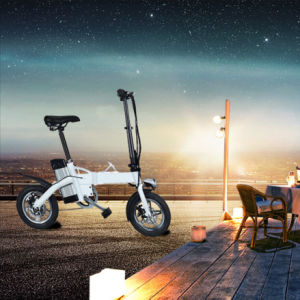 Factory Supply Aluminium Alloy 12 Inch Folding Electric Bike pictures & photos