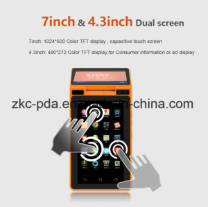 Bus Ticket Machine Android Handheld PDA with Barcode Scanner Printer pictures & photos