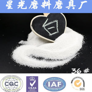 White Aluminium Oxide Grinding Materials Powder pictures & photos