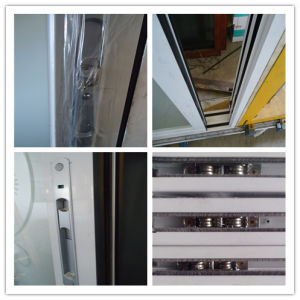 Aluminium Frame Wooden Slding Door Aluminum Door pictures & photos