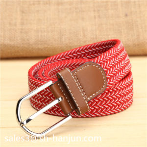 Fashion Casusal Mix Color Elastic Stretch Belt