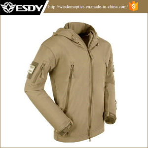 Esdy Tactical Sharkskin Soft Shell Outdoor Waterproof Windproof Military Jacket pictures & photos