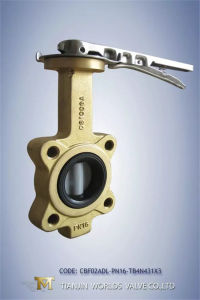 Aluminum Bronze Wafer Butterfly Valve pictures & photos