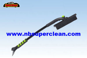 New Soft Snow Brush, Snow Brush in Ice Scraper, Snow Pusher (CN2305) pictures & photos