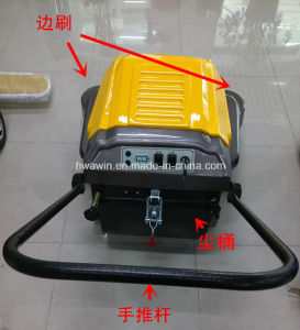 P100A Large Capacity Electric Walk Behind Sweeper pictures & photos
