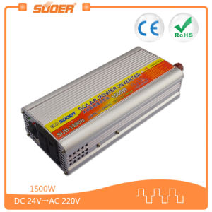 Suoer 1500W 24V Modified Sine Wave Solar Inverter (SUB-1500B) pictures & photos
