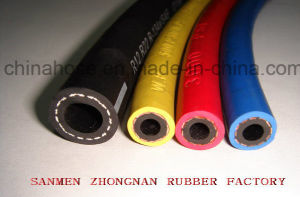 Smooth Surface Colorful Three Line Freon Charging Hose for Refrigerant System pictures & photos
