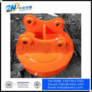 Circular Electromagnetic Lifter for Excavator pictures & photos