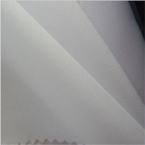 Free Sample Polypropylene Woven Fusible Interfacing Elastic Interlining Fabric for Garment pictures & photos