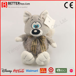 Stuffed Plush Animals Soft Wolf Toy for Baby Kids pictures & photos