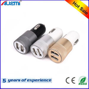 Dual USB in Car Charger Adapter with 2 Port pictures & photos