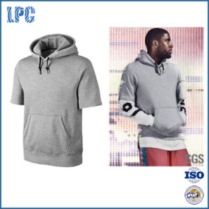 2017 OEM Short Sleeve Fleece Popular Training Hoody pictures & photos
