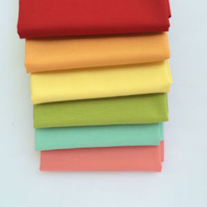 60s Soft Cotton Poplin Twill Weave Fabric pictures & photos