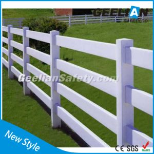 Eco Low Carbon Security PVC Fence for North American pictures & photos