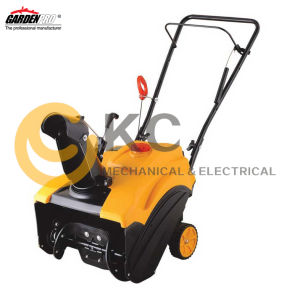 Single Stage Snow Thrower Gasoline Engine Electric Start for Garden pictures & photos