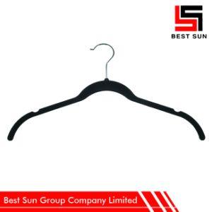 Custom Made Non Slip Velvet Clothing Hanger pictures & photos