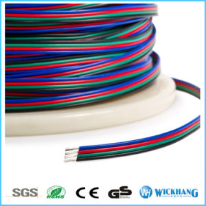 4 Pin RGB Extension Wire Connector Cable for RGB LED Strip Lights pictures & photos