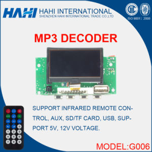 FM Radio USB TF PCB Design Assembly Decoder Board pictures & photos