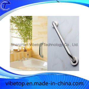 Space Aluminum Shower Safety Grab Bar with Soap Net Sgb-003 pictures & photos