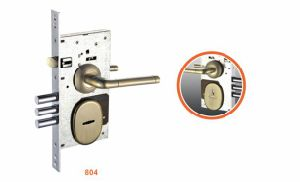 Iron/Zinc Safe Door/Security Door Lock (804) pictures & photos