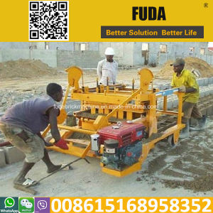 Qt4-45 Gas Operated Concrete Blocks Making Machine Small pictures & photos