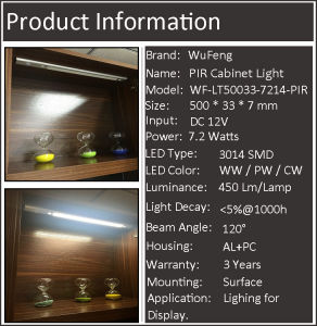 LED Cabinet Light with Uniform Lighting Performance pictures & photos