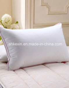 White Cotton Duck Feather Filled Custom Pillow pictures & photos