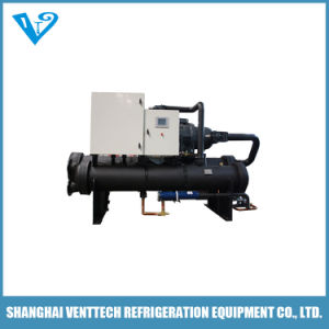 -35c Double Compressor Low Temperature Water Cooled Screw Chiller pictures & photos
