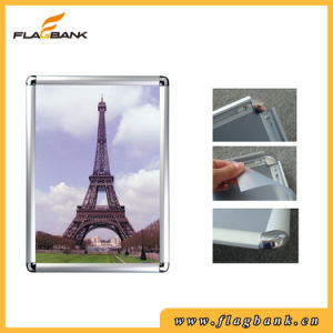 A4 Wall-Mounted 25mm Edge Round Corner Snap Frame/Clip Frame pictures & photos