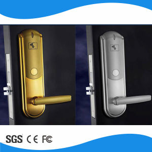 Zinc Alloy ANSI5 Smart MIFARE Card Lock Motise Door Hotel Lock pictures & photos