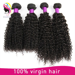 100% Remy Human Hair Weaving Peruvian Kinky Curl pictures & photos