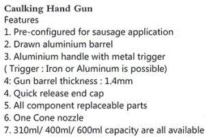 Pneumatic Tools Air Caulking Gun GB-Jp-Ap03 pictures & photos