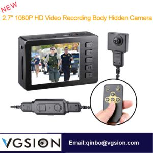 2.7 Inch 1080P HD Mini DVR Angel Eye Video Recording Police Body Camera