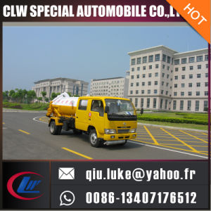 Small Vacuum Sewage Suction Truck, Sewage Suction Tanker Truck pictures & photos