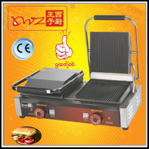 Double Plates Sandwich Grill Panino Grill Panini Grill pictures & photos