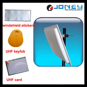 RFID Long Range Automatic Parking UHF Reader with Windshield Stickers pictures & photos