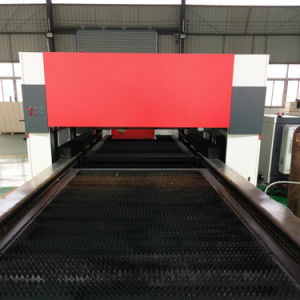 Third Generation 2000W Ipg Fiber Laser Cutting Machine with Double Table pictures & photos