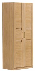 Modern Style Two Doors Wardrobe Wood Bedroom Wardrobe pictures & photos