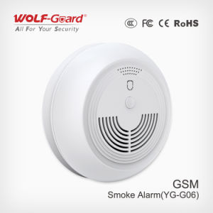 Wireless/ Wired GSM Smoke Detector pictures & photos