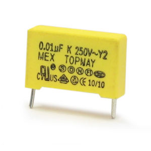 3.3UF Metallized Polypropylene Film Capacitor Y1 Type Tmcf19 pictures & photos