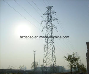 Customed Galvanized Steel Power Line Transmission Tower pictures & photos