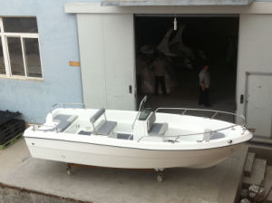 Liya 500 Fiberglass Fishing Boat Rigide Bateau a Moteur 50 HP pictures & photos