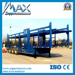 Skeletal Type 8 Car Carrier Semi Trailer for Sale pictures & photos