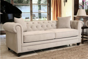 Luxury Neoclassic Fabric Sofa (1+2+3) pictures & photos