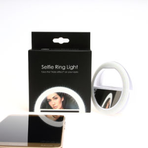 36 LED Ring Fill-in Light Supplementary Phone Photography LED Circle Camera Diva Selfie Flash Light LED pictures & photos